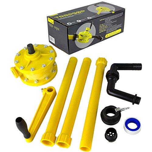 TERAPUMP Polypropylene Rotary Drum Pump