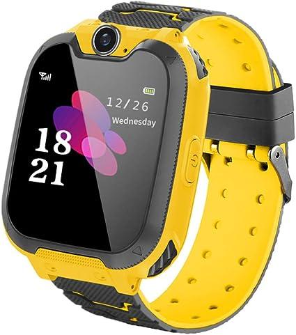 LYPULIGHT Niños Smart Watch Phone, Smart Watch Phone con ...