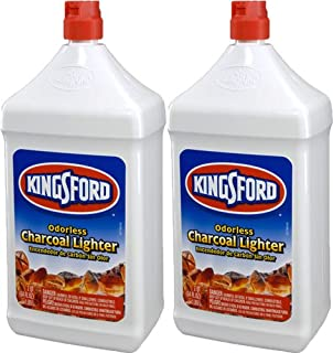 product image for Kingsford 71186 Charcoal Lighter Fluid, 64-Ounce Bottle (2-Pack) (Discontinued by Manufacturer)
