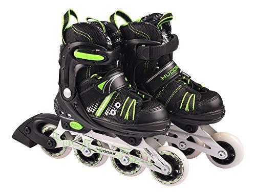 HUDORA Kinder Inliner RX-2 Inlineskates Rollschuhe Skates verstellbar Gr. 29-40, Größe:37-40