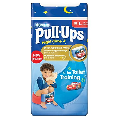 Huggies Large Pull-Ups nuit Boy 10 par paquet