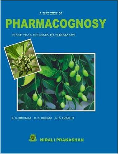 PHARMACOGNOSY BOOK EBOOK