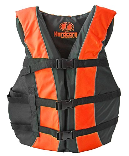 Universal Polyester Life Jacket Vest(Orange) - 1