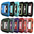 AWINNER Colorful Case for Fitbit Ionic,Shock-proof and Shatter-resistant Protective Silicone Case for Fitbit Ionic Smartwatch