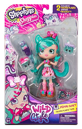 Shopkins Shoppies Wild Style Doll Peppa Mint Buy