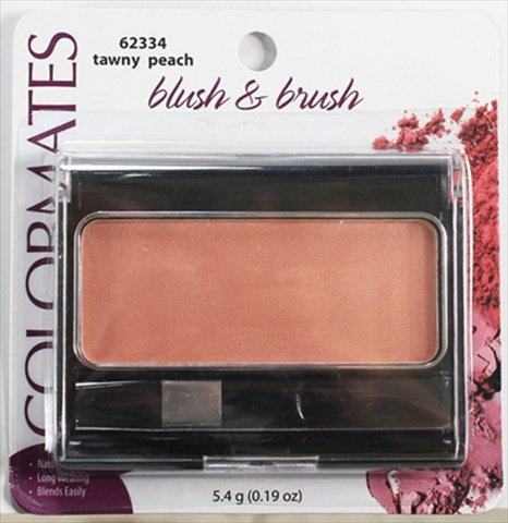 (Colormates Blush & Brush, Tawny Peach, Pack of 4)