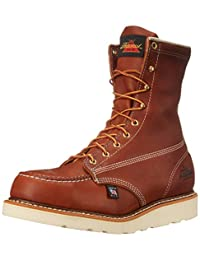 Thorogood Men's Heritage 8 Inch Safety Toe Work Boot