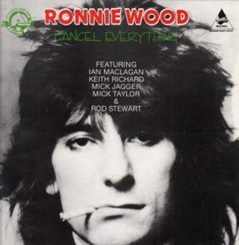 CANCEL EVERYTHING LP UK THUNDERBOLT 1985: RONNIE WOOD: Amazon ...