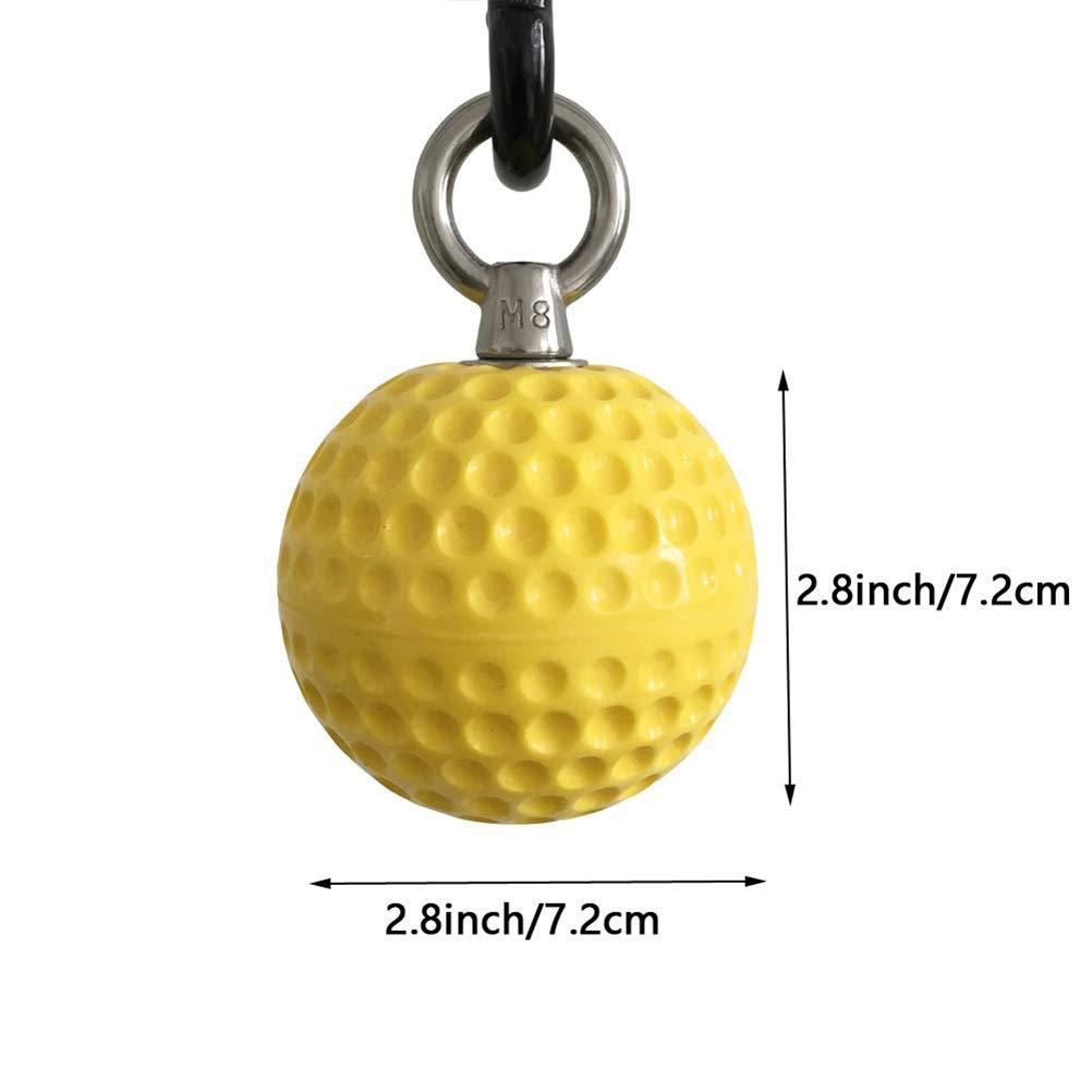Surenhap Pull Up Ball trepar Power Ball Klimmzug Accesorios Fitness Grip para Kraftsport, Bodybuilding, Crossfit, Krafttraining, etc.: Amazon.es: Hogar