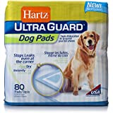 HARTZ UltraGuard Training Pads for Dogs, 80-Count