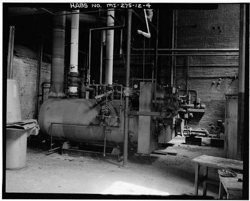 HistoricalFindings Photo: Fisher Body Company Plant,1961 East Milwaukee Avenue,Detroit,Michigan,MI,HABS,3