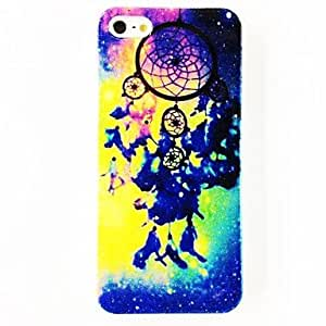 HP DFFeather Dream Catcher Pattern TPU Soft Case for iPhone 5/5S , Multicolor