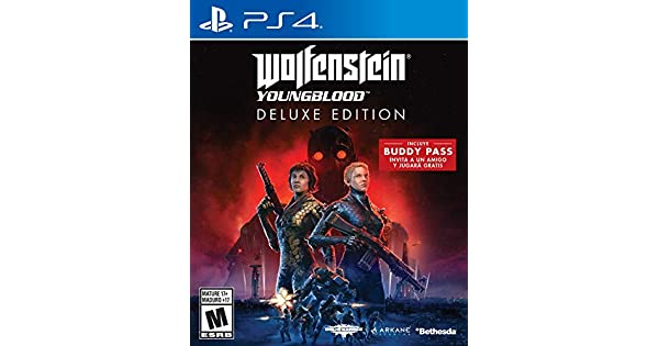 Amazon.com: PS4 WOLFENSTEIN: YOUNGBLOOD [DELUXE EDITION] (US ...