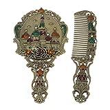 Esoes Hand Held Mirror, Vintage Hand Mirror