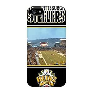 Tpu Estebanrivera-7 Shockproof Scratcheproof Pittsburgh Steelers Hard Case Cover For Iphone 5/5s