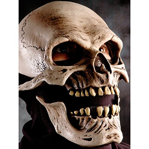 Zagone Studios Men's Death , Gray, Adult One (Half Skull Makeup)
