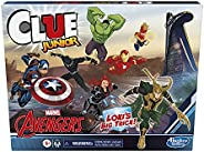 Clue Junior: Marvel Avengers Edition Board Game for Kids Ages 5+, Loki's Big Trick, Classic Mystery Game f