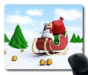 Design Christmas Snowmobiles Mouse Pad Desktop Laptop Mousepads Comfortable Office Mouse Pad Mat Cute Gaming Mouse Pad