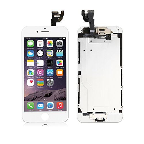 Screen Replacement for iPhone 7 Plus (5.5) LCD 3D Touch Screen Digitizer Display with Free Repair Tool Kits + Free Screen Protector (Gray)