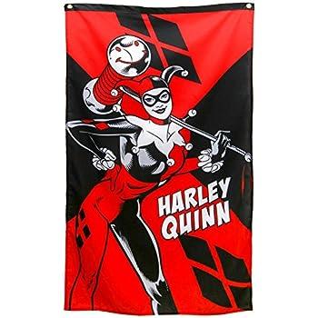 Amazon Com Harley Quinn Batman Arkham City Fabric Cloth
