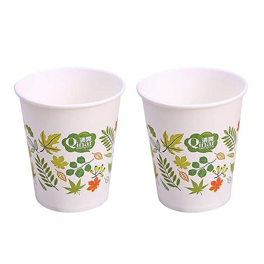 Toyvian - Juego de 50 Vasos de Papel Desechables de 250 ml ...