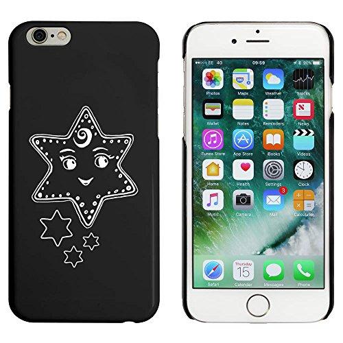 Noir 'Étoile Content' étui / housse pour iPhone 6 & 6s (MC00089266)