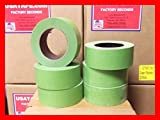 Lot Of 24 Rolls 2''X 60 Yards Green Painters Masking Tape