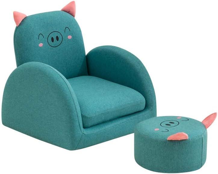 JJZXD Frijol Silla de los niños del Bolso del Asiento del sofá Cama el Dormir del bebé Nest Chair Muebles Juguetes de Peluche Descargas Digitales (Color : A)