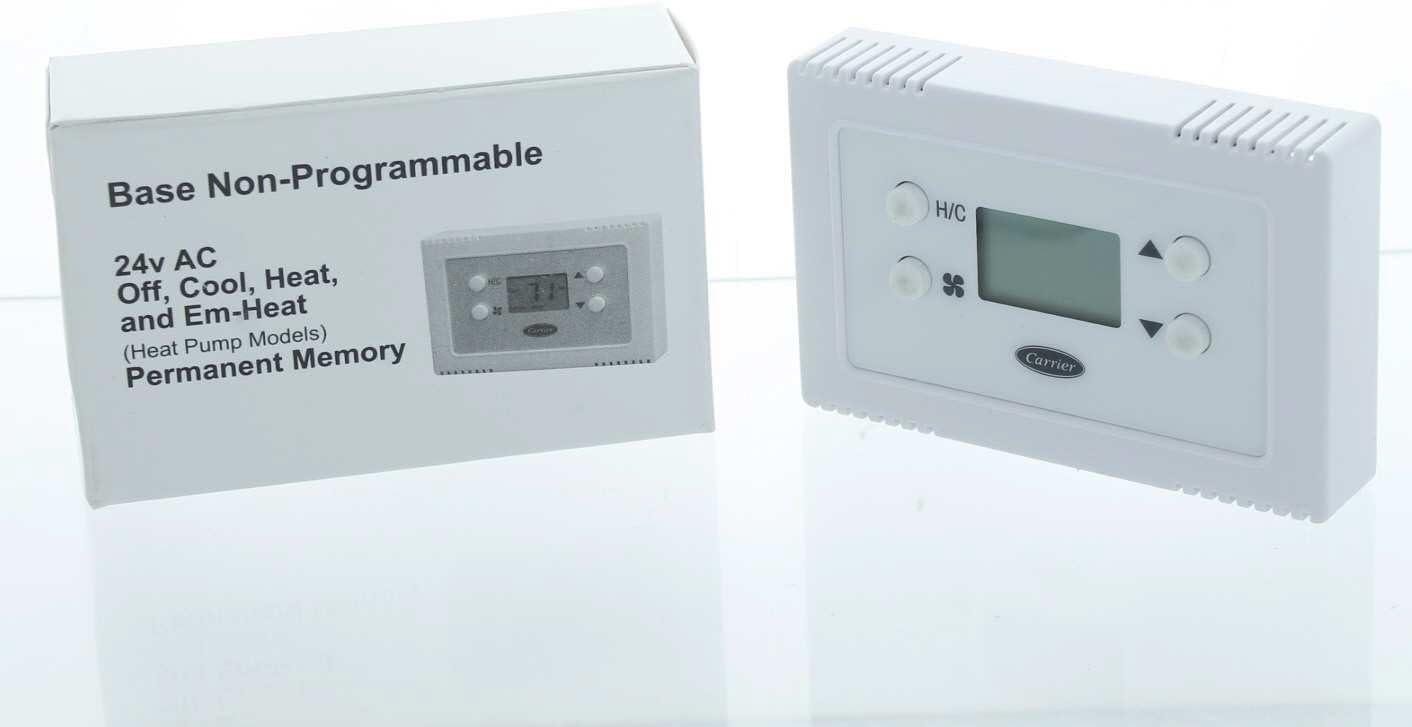 Payne TSTATPPBAC01-B Non-Programmable Thermostat 24 Volt 1 Stage Heat 1 Cool
