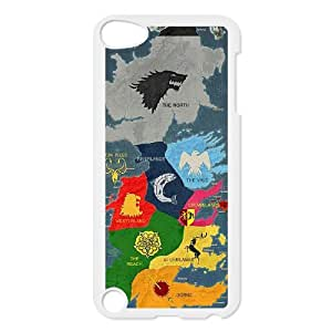 New Arrival game of thrones Hard Plastic phone Case FOR Ipod Touch 5 ART160735