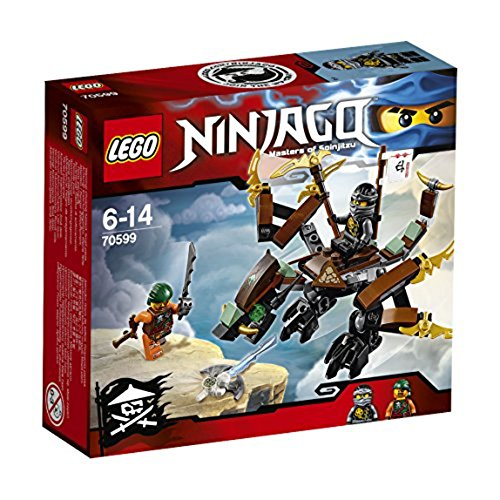 Lego Ninjago 70599 - Jeu de Construction - Le Dragon de Cole