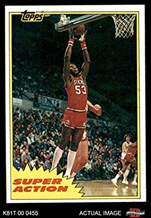 1986 FLEER #24 DARRYL DAWKINS NETS PSA 8 K2257734-755