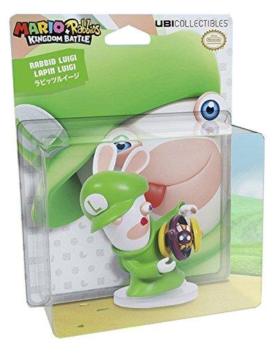 Mario   Rabbids Kingdom Battle Pvc Figure Rabbid Luigi 8 Cm Ubisoft Mini Figures