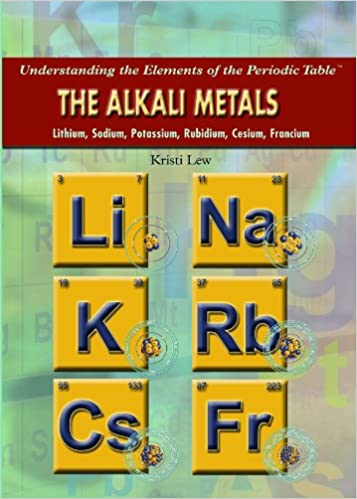 Buy the alkali metals lithium sodium potassium rubidium cesium buy the alkali metals lithium sodium potassium rubidium cesium francium understanding the elements of the periodic table book online at low prices urtaz Choice Image