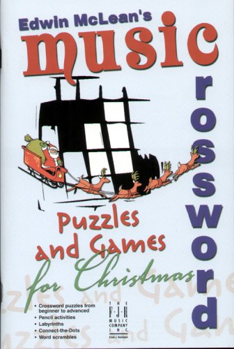 - Music Crossword Puzzles and Games for Christmas