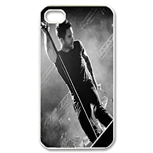 LSQDIY(R) Adam Levine iPhone 4,4G,4S DIY Case, Brand New iPhone 4,4G,4S Plastic Case Adam Levine