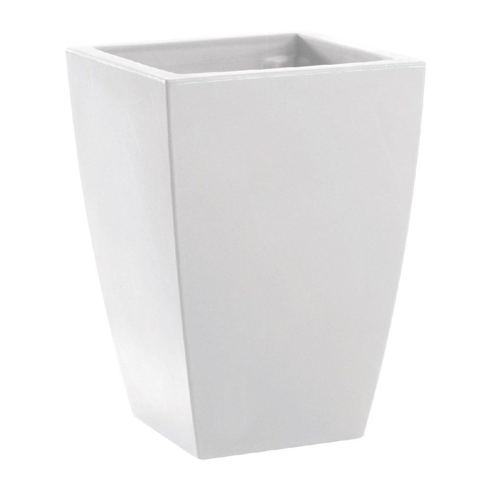Couleur Blanc Mat 30 x 30 x 43 cm hydroflora 63002600 Pot /à Plante Nicoli Logos Matt