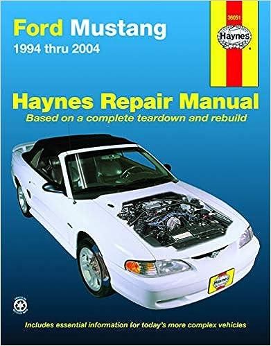 1994 Ford Car 2 Spec Book Rear Wheel Service Manual