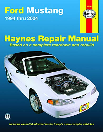 Ford Mustang 1994-2004 (Hayne's Automotive Repair Manual)