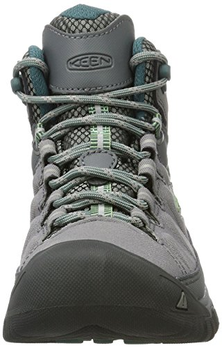 Basil Exp Hiking Shoes Keen Steel Green Grey High Women's Mid Targhee Rise Wp Fwwx7nSfqO