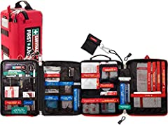 Accidents in the home and workplace are a common event. We've designed our largest SURVIVAL kit to give you piece of mind. This kit contains all the essential items to respond to an emergency. From a small cut to a burn, heart attack, major w...