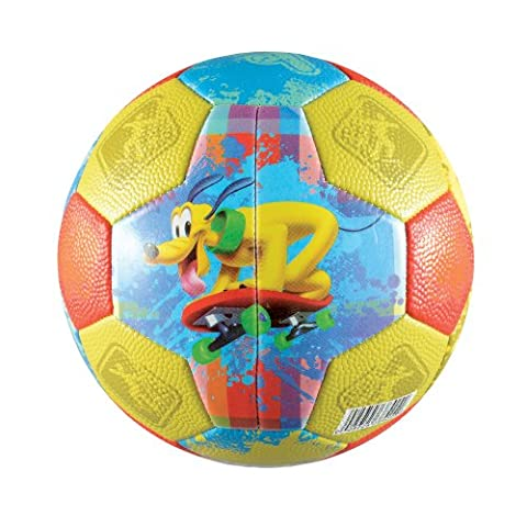 Franklin Sports Disney Mickey Mouse Clubhouse Air Tech Soft Foam Soccer Ball, Size 3 - Disney Ball