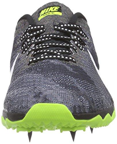 NikeZoom Rival XC - Zapatillas de Atletismo Hombre Varios Colores - Mehrfarbig (Black/White-Volt 017)
