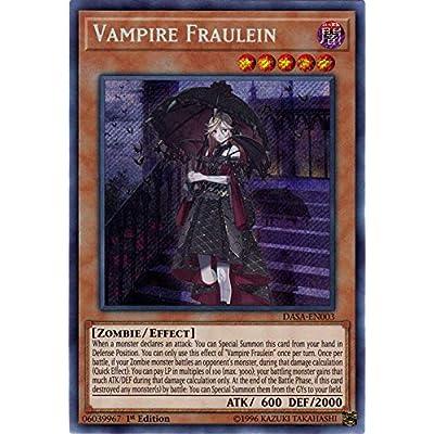 Vampire Frulein - DASA-EN003 - Secret Rare - 1st Edition: Toys & Games