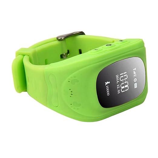 4 opinioni per Q50 Bambini GPS Orologi Smartwatch Supporto GPS/GPRS/Bluetooth Locator Tracker-