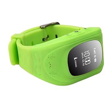 Q50 Smartwatches Reloj Infantil Pulsera Inteligente GPS / LBS Localizador Alarma para Seguridad de Niños -