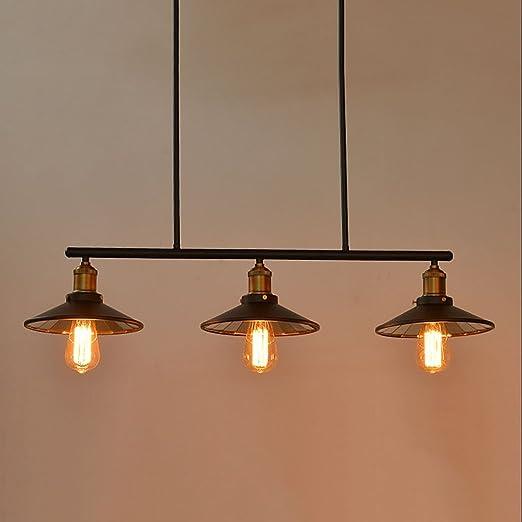 Amos Viento Industrial lámparas de Billar creativos cafés Tienda ...