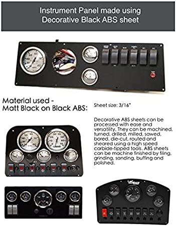 """STEREO FACE PLATE 9 1//8/"""" X 4 1//4/"""" MARINE BOAT CARBON FIBER BLANK ELECTRONICS"""