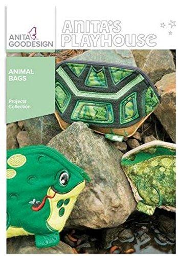 Anita Goodesign Embroidery Machine Designs CD Animal (Animals Machine Embroidery Designs)