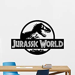Jurassic World Pared Vinilo Jurassic Park Dinosaurio T-Rex calcomanía para pared Art Design Housewares – Habitación de los niños decoración extraíble para pared de recámara mural 57zzz